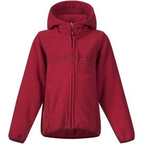 Bergans Kids Bryggen Jacket Red/Burgundy